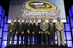 Le top 13 des pilotes de NASCAR Sprint Cup Series