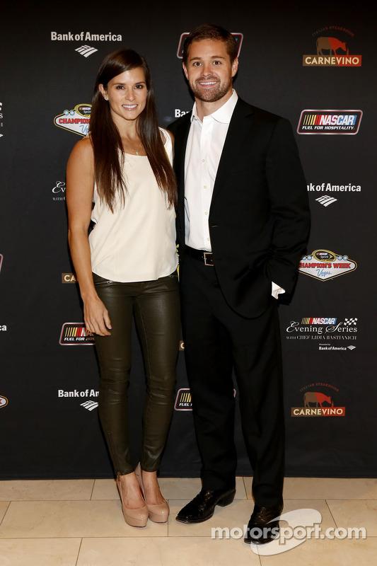 Danica Patrick und Ricky Stenhouse Jr.