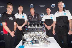 Volvo dévoile son moteur V8 pour le V8 Supercars 2014