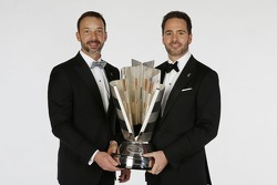 2013 kampioen Jimmie Johnson met crew chief Chad Knaus