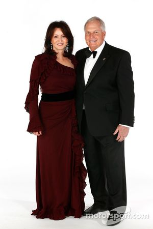 Rick Hendrick et sa femme Linda