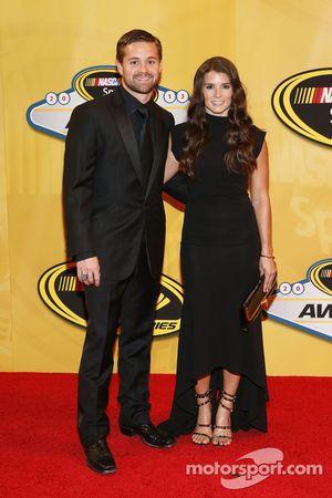 Ricky Stenhouse Jr. et Danica Patrick