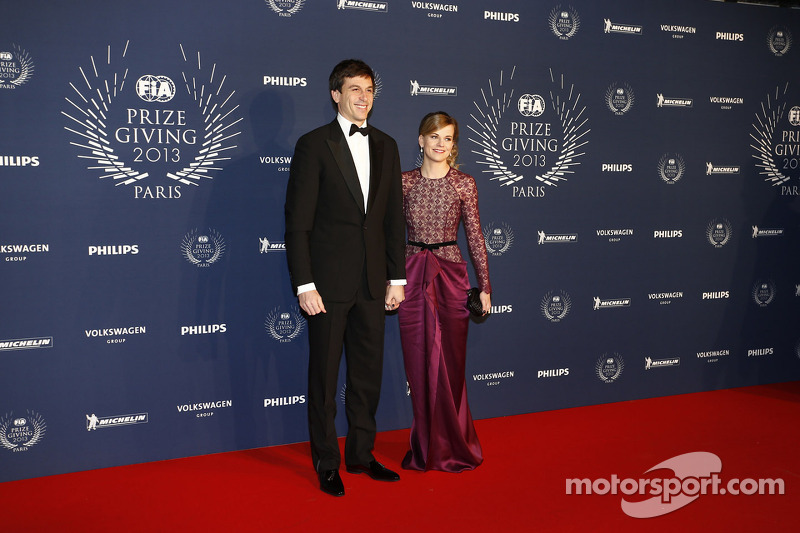Toto Wolff and Susie Wolff