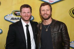 Dale Earnhardt Jr. and musician Dierks Bentley