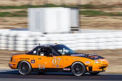 #07 Sampson Racing Radios/Pacific Throttle House Mazda Miata: Bug Amani, Tim Auger, Shawn Sampson, M
