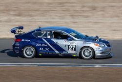 #27 Honda Research West 1 Acura ILX: Sage Marie, Scott Nicol, Lee Niffenegger, Matthew Staal, Michae