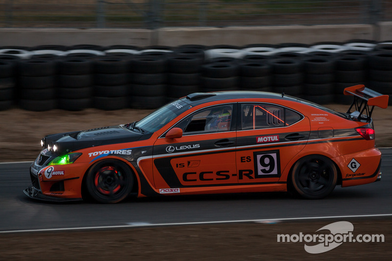 #9 Lexus USA Lexus IS F: Ken Dobson, Tom Dyer, Jeff Westphal