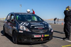 #12 HPD Race Club Honda Fit: Thomas Grosart, Aaron Hale, Brian Johnston, Robin Laqui, Tom Reichenbac