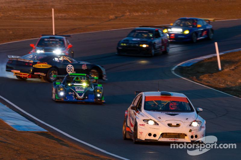 #86 Kleen Blast / Davids Racing Products Cheverolet Camaro: Mike David, Steve Johnson, Tim Spurgeon spint