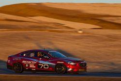 #70 Mazdaspeed Factory Guys Mazda 6 Diesel: Mike Allen, Dave Coleman, Nathan Edmonds, Jason Meise, R