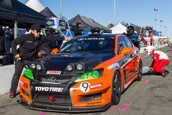 #9 Lexus USA Lexus IS F: Ken Dobson, Tom Dyer, Jeff Westphal