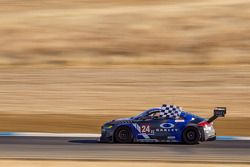 Winnaar #24 Rotek Racing Audi TT RS: Jeff Altenburg, Robb Holland, Roland Pritzker, Robert Huff