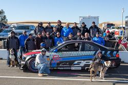 Klasse-winnaars #61 Stammer-Inc / Bavarian Performance BMW M3-E46: Matt Crandall, Gregory Liefooghe,