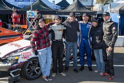 Klasse-winnaars #79 N1 Racing 2 Lexus IS250: Kai Goddard, Alan McCallum, Mark McManus, David Smith,