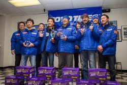 Vencedores da Classe nº 95: Spoon Team Honda CR-Z: Naoki Hattori, Tatsuru Ichishima, Hidetoshi Mitsu