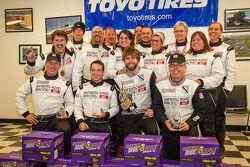 Klasse-winnaars #18 Luxury: Don't Crash Racing Ford Mustang Boss 302S: Tom Brown, Thomas Martin, Bri