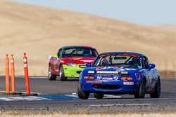 #36 Spare Parts Racing 2 Mazda Miata: Mick Hoogwerf, David Koh, Bart Wubben
