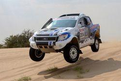 Ford Ranger test in Namibia