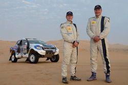 Япи Баденхорст и Кристиан Виссер. Приготовления Team Ford Racing к
