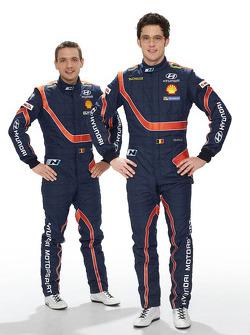 Тьерри Невилль и Николя Жильсуль. Презентация Hyundai i20 WRC, особое событие.