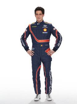 Тьерри Невилль. Презентация Hyundai i20 WRC, особое событие.