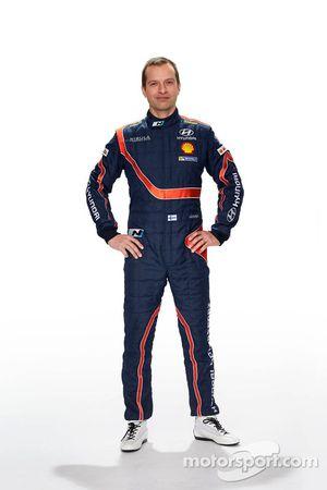 Юхо Хяннинен. Презентация Hyundai i20 WRC, особое событие.