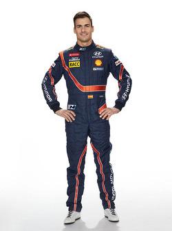 Даниэль Сордо. Презентация Hyundai i20 WRC, особое событие.