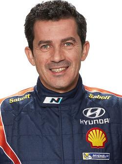 Марк Марти. Презентация Hyundai i20 WRC, особое событие.