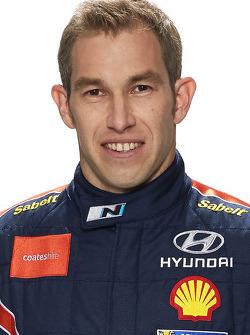 Крис Эткинсон. Презентация Hyundai i20 WRC, особое событие.