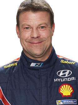 Стефан Прево. Презентация Hyundai i20 WRC, особое событие.