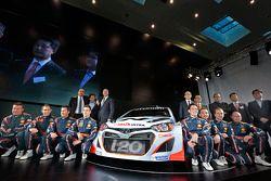 Hyundai i20 WRC tanıtımı