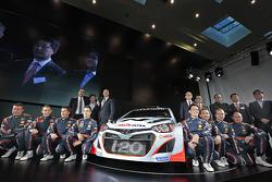 Презентация Hyundai i20 WRC, особое событие.