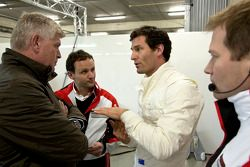 Mark Webber, Red Bull Racing, teste pour Porsche LMP1