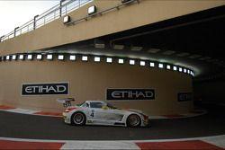 #4 Team Abu Dhabi by Black Falcon Mercedes SLS AMG GT3: Klaas Hummel, Adam Christodolou, Andreas Sim