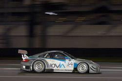 El #34 PRO GT de Almeras Porsche 997 GT3R: Eric Dermon, Franck Perera, Grégory Guilvert