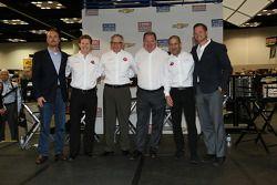 Foto de equipo del Target Chip Ganassi Racing