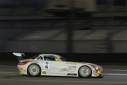#4 Team Abu Dhabi by Black Falcon Mercedes SLS AMG GT3: Klaas Hummel, Adam Christodolou, Andreas Simonsen