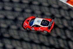 #11 Kessel Racing Ferrari 458 GT3: Michael Broniszewski, Daniel Zampieri, Cesar Ramos