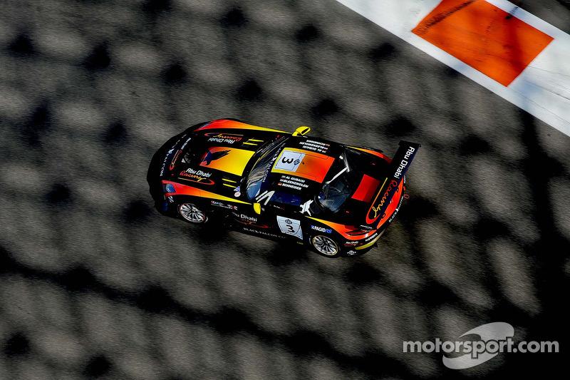 #3 Team Abu Dhabi by Black Falcon Mercedes SLS AMG GT3: Khaled Al Qubaisi, Bernd Schneider, Jeroen Bleekemolen