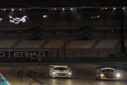 #3 Team Abu Dhabi by Black Falcon Mercedes SLS AMG GT3: Khaled Al Qubaisi, Bernd Schneider, Jeroen Bleekemolen takes the win