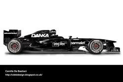 Formel-1-Auto im Retrodesign: Arrows 1998