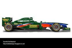 Раскраски машин Ф1 в стиле ретро, Особое мероприятие.