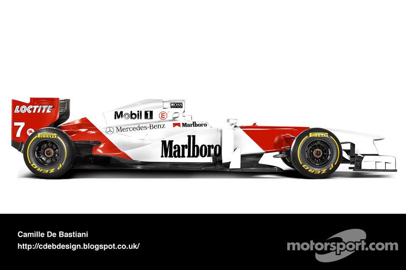Auto Retro F1 - McLaren 1996