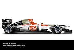 Auto Retro F1 - BAR 2004