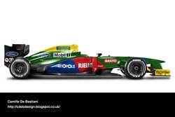 Auto Retro F1 - Benetton 1990