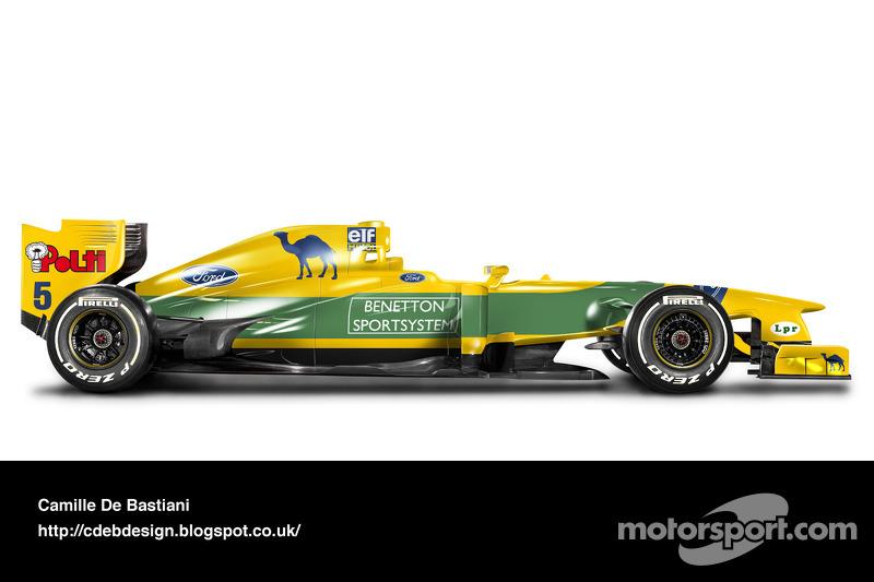 Auto Retro F1 - Benetton 1993