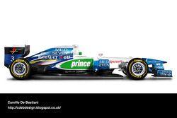Auto Retro F1 - Benetton 1996