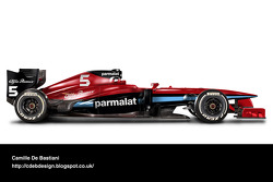 Formel-1-Auto im Retrodesign: Brabham 1979