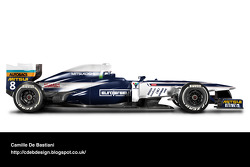 Formel-1-Auto im Retrodesign: Brabham 1991