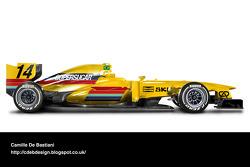 Formel-1-Auto im Retrodesign: Copersucar 1979